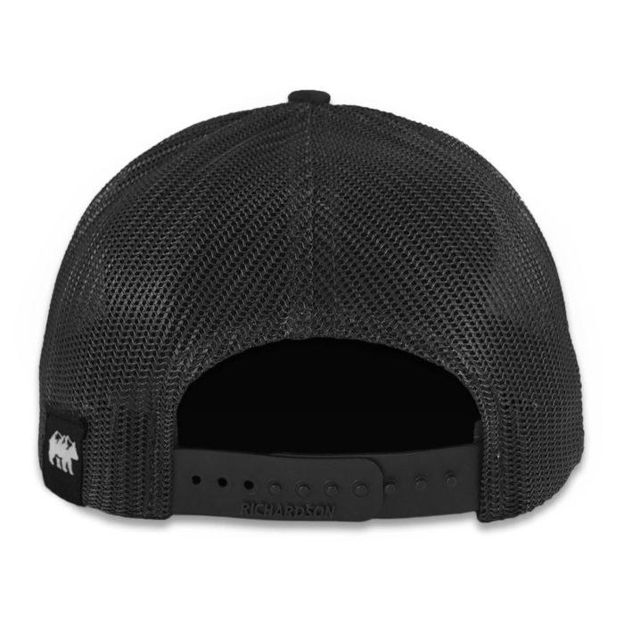NC Mountain Hat Back Black