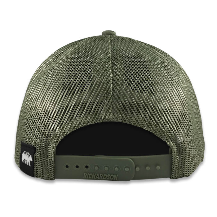 NC Mountains Hat Back Loden