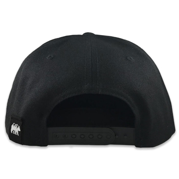 Old East Rags Yupoong 6089 Back Black