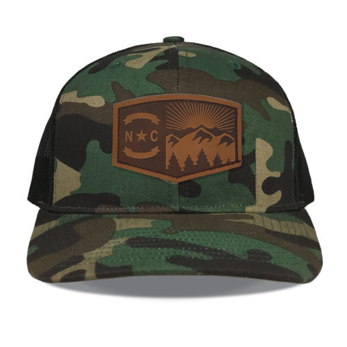 Richardson-112-camo-snapback-trucker-north-carolina-mountains-leather-patch