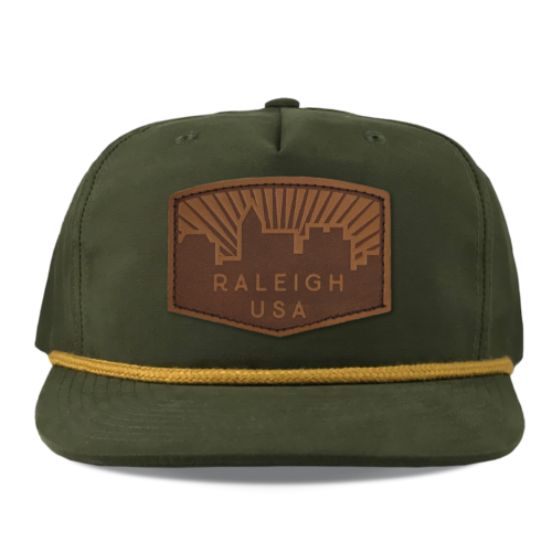 Richardson-256-loden-umpqua-grandpa-hat-raleigh-skyline-leather-patch