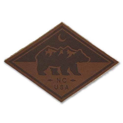 north-carolina-bear-leather-patch