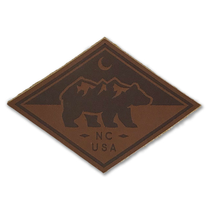 north-carolina-bear-leather-patch