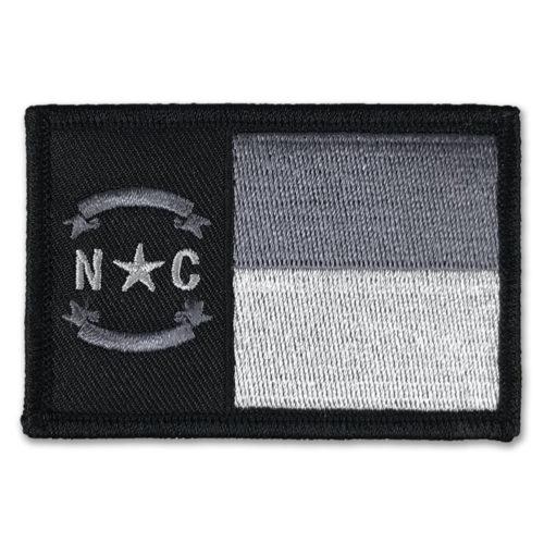 north-carolina-flag-patch-black