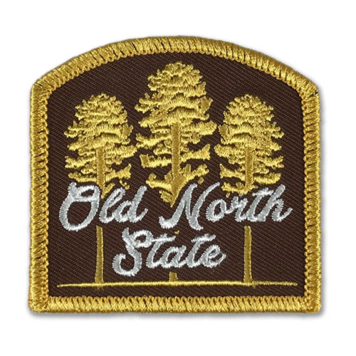 north-carolina-land-of-the-pines-patch-brown