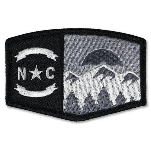 north-carolina-mountains-patch-black