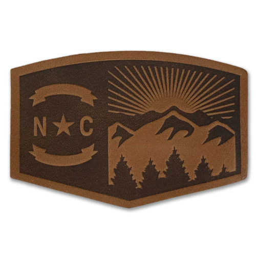 north-carolina-mountains-patch-leather