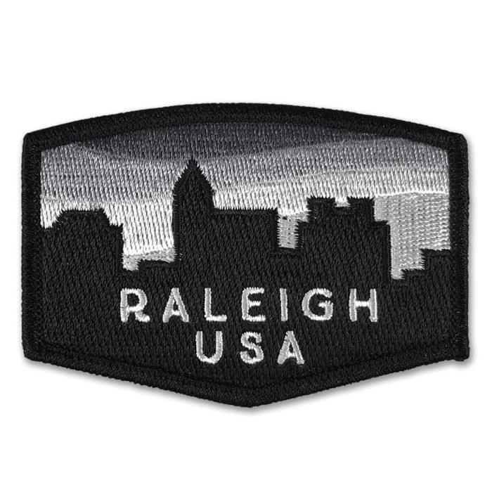 raleigh-skyline-north-carolina-patch-black