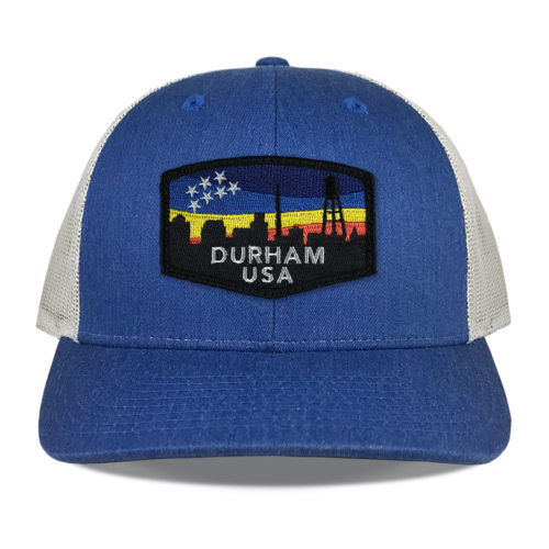 richardson-115ch-royal-heather-durham-skyline-patch-hat