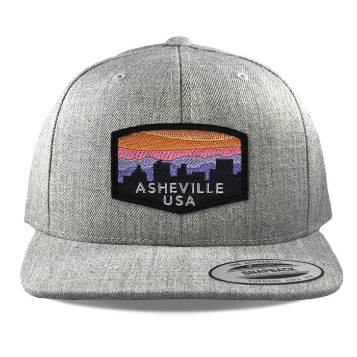 yupoong-6089-heather-asheville-sunset-patch