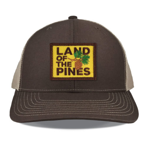 richardson-112-brown-land-of-the-pines-patch-hat