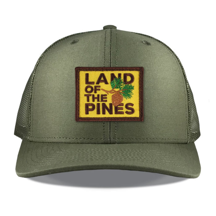 richardson-112-loden-land-of-the-pines-patch-hat