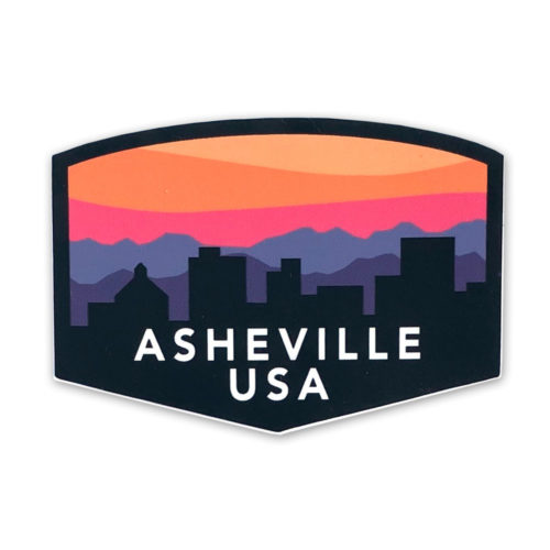 old-east-asheville-skyline-sticker