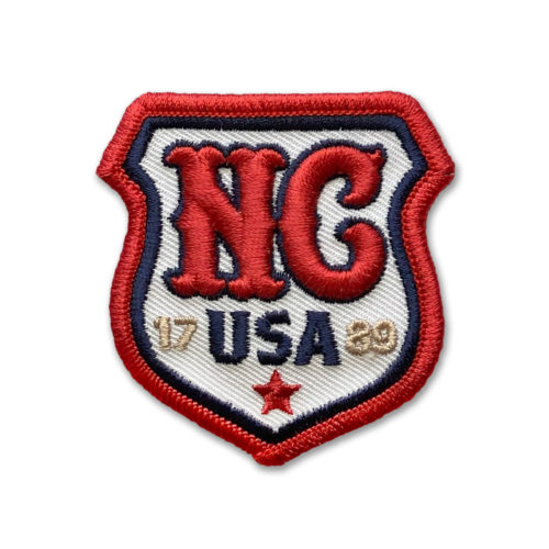 nc-shield-puff-embroidery-patch