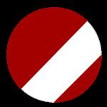 Red Flat Bill Foamie